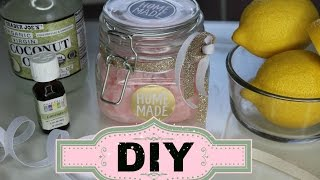 DIY: Lavender Pink Lemonade Body Scrub!