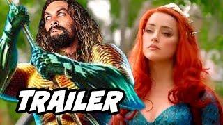 Aquaman Official Trailer 3 - Justice League Easter Eggs Breakdown