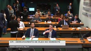 CPI - DERRAMAMENTO DE ÓLEO NO NORDESTE - Audiência Pública com Professores e especialistas - 05/12/2019 09:30