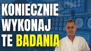 Hubert Czerniak TV – Te BADANIA musi zrobić każdy! Skuteczna DIAGNOSTYKA stanu ZDROWIA