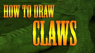 How To Draw Tattoo Syle Japanese Dragon Claws