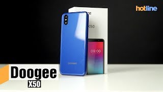 Смартфон DOOGEE X50 1/8GB Black от компании Cthp - видео 1