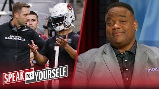 Resistance to Kingsbury will hinder the growth of Kyler Murray — Whitlock   NFL   SPEAK FOR YOURSELF