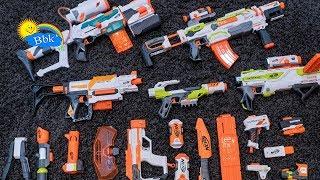 Домашние сражения игрушек ↑ Нёрфы, пистолеты, ружья, автоматы, пулемёты ↑ Обзор игрушек