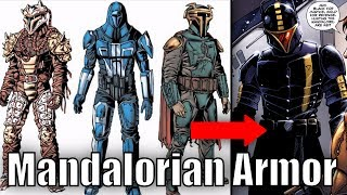 The Evolution Of Mandalorian Armor [Legends]