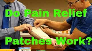How to Manage Pain Via Natural Methods-Do Pain Relief Patches Work?