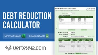 Debt Reduction Calculator Tutorial - Use a Debt Snowball to Pay Off Debt