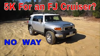 I Bought The Lowest Priced Toyota FJ Cruiser, Lets Look it Over and Fix it up.
