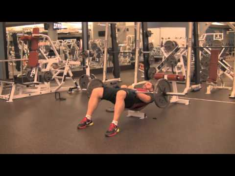 Barbell Hip Thrust Exercise Com