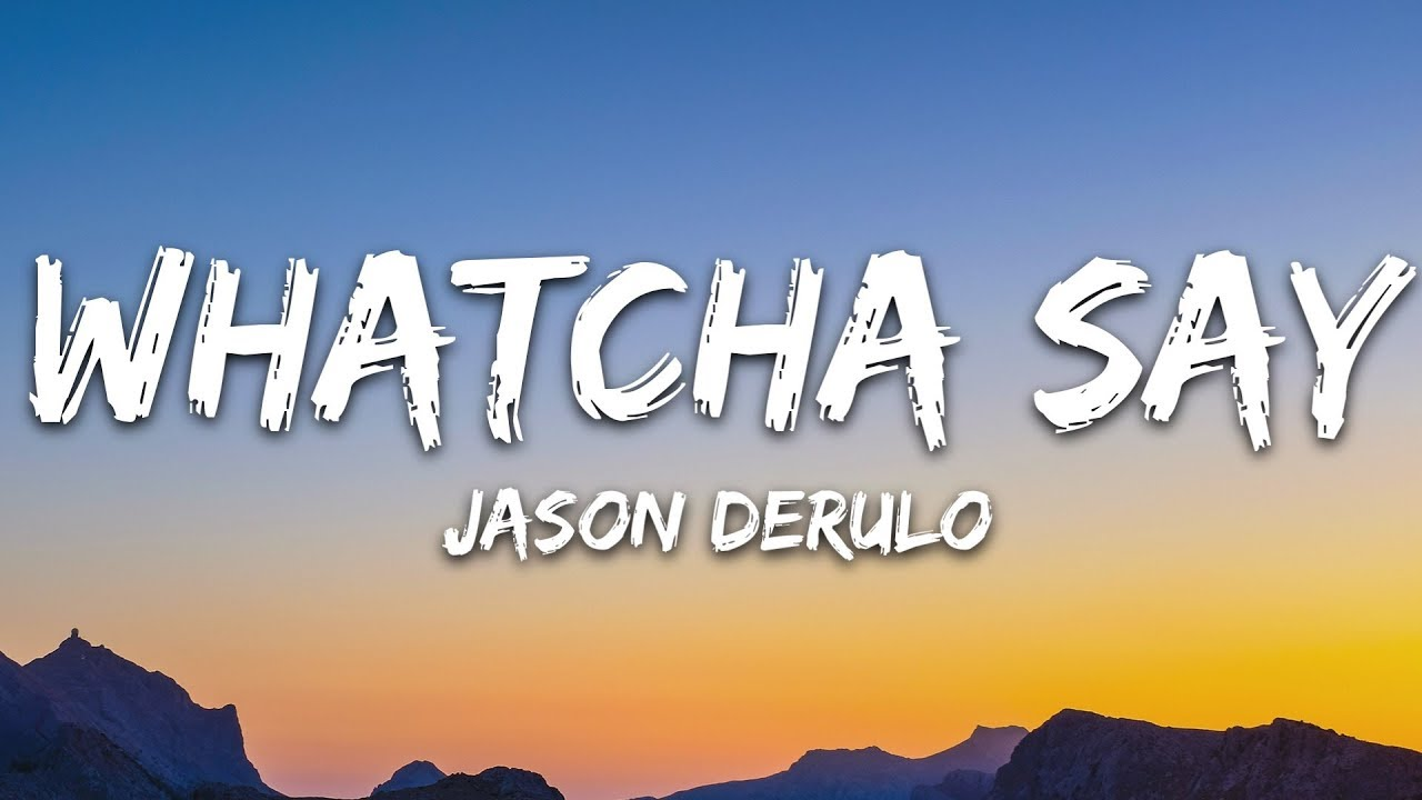 jason derulo whatcha say acoustic mp3 download
