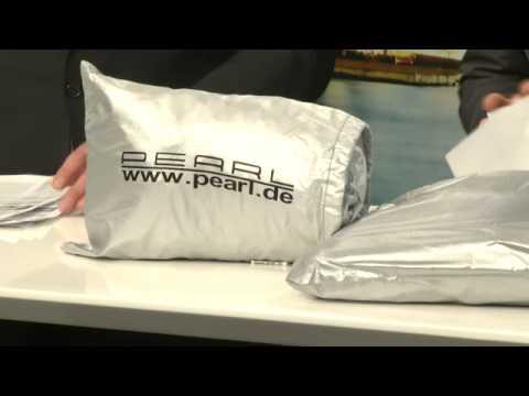 PEARL Fest sitzende Anti-Eis-Scheibenfolie mit Magnet-Fixierung