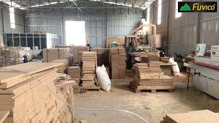 Mở xưởng sản xuất nội thất, ván gỗ công nghiệp cần có máy móc gì? Layout xưởng SX 300 mét vuông