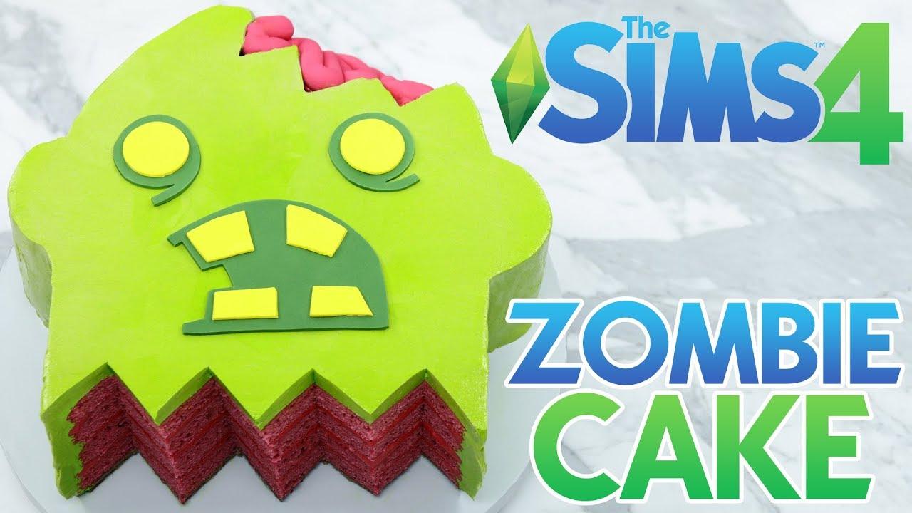 SIMS 4 ZOMBIE CAKE - NERDY NUMMIES thumbnail