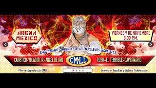 LUCHA LIBRE VIERNES ESPECTACULAR DE ARENA MEXICO 9 DE NOVIEMBRE  DE 2018 FUNCION COMPLETA