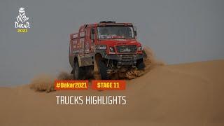 DAKAR2021 - Stage 11 - AlUla / Yanbu - Truck Highlights