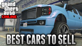 GTA 5 Online - TOP 5 BEST CARS TO FIND & SELL! Fast & Easy Money (GTA 5 Rare & Secret Cars)