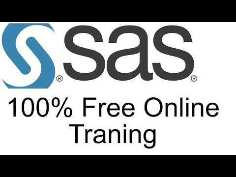 Free SAS Training 30days SAS Training How to enroll in ... - YouTube