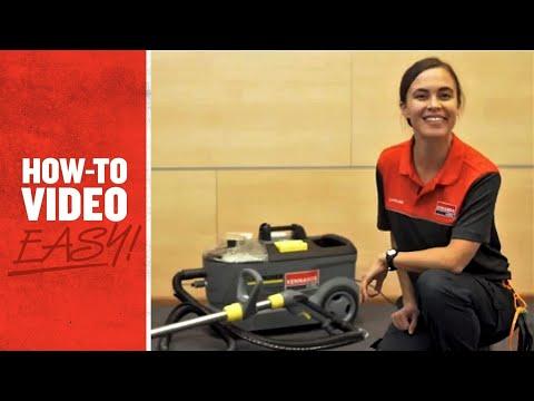 How to use a Carpet Shampoo Machine