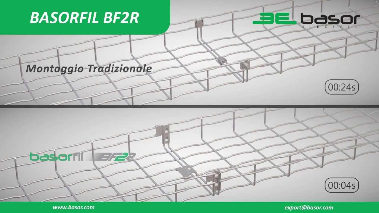 Passerella a filo con attacco rapido BASORFIL BF2R Italiano HD Basor Electric