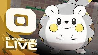 Togedemaru  - (Pokémon) - Pokemon Sun and Moon! Showdown Live: Enter Togedemaru - Togedemaru Showcase!