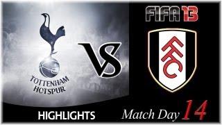 [TTB] FIFA 13 - Fulham Vs Spurs - Match Day 14 - Big Time Miss!