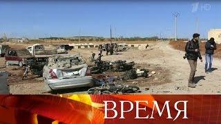 Боевики группировки «Исламское государство» пытаются удержать западные пригороды города Эль-Баб.