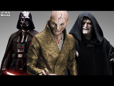 Star Wars Actor Claims Snoke Is MORE POWERFUL Than Darth Sidious and Darth Vader