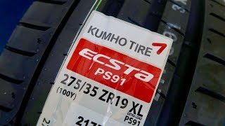 Kumho Ecsta PS91 Performance Tyres! (BMW E92 M3)