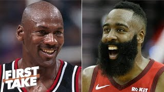 Calling Harden a better scorer than MJ is absurd - Will Cain rips Daryl Morey | First Take