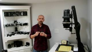 How to calculate focal length of a lens