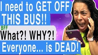 My Bus Was HAUNTED!!! (Exit Nowhere | Cliffhanger | Scary Chat Stories)
