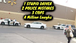 Crazy Lady Calls Cops, Gets Educated,  Then Officer Breaks the Rules