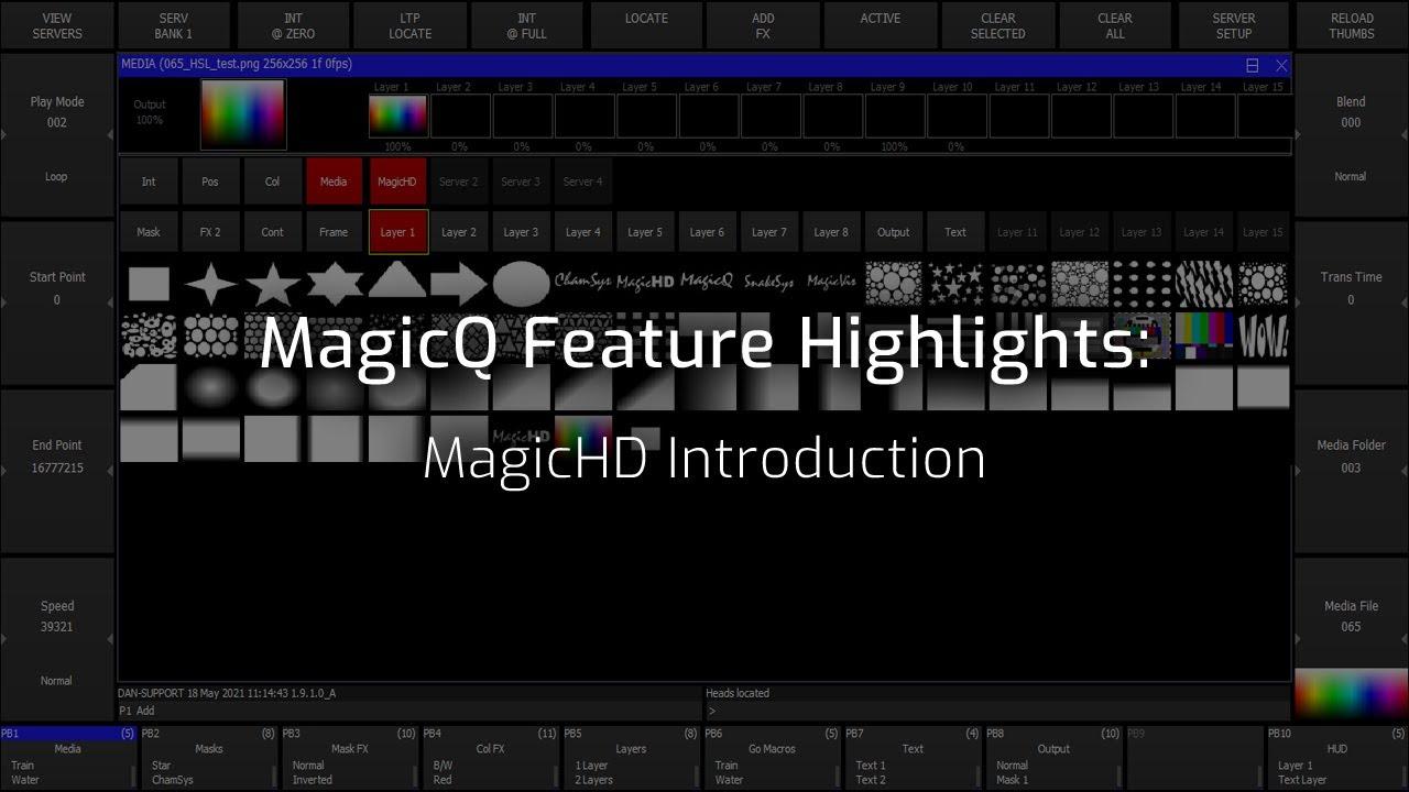 MagicHD Introduction