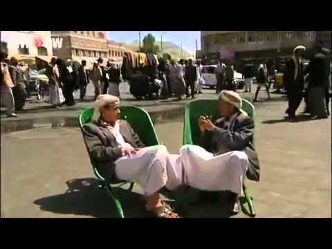3 Araber mit Schubkarren reden schwäbisch