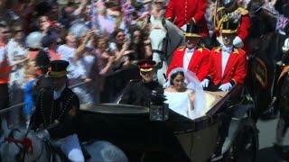 Harry et Meghan sur la King's Road de Windsor | Kholo.pk