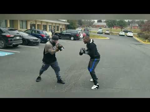MIGHTY MOUSE VS. WOLF (d.c. parking lot scraps)