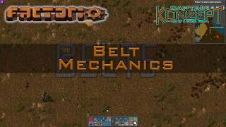 Factorio Belt Mechanics, Tipps & Tricks In 5min