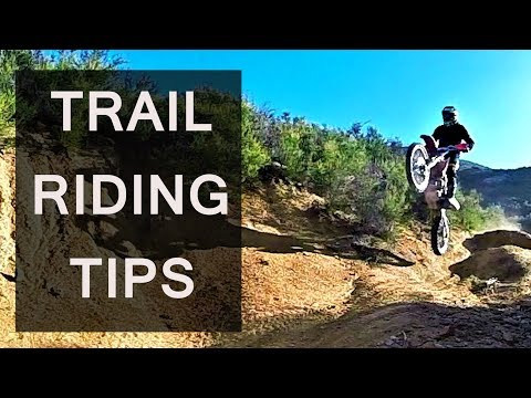 How to ride dirt bike on a trail, KTM 250sx - motovlog trail riding tips