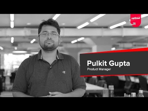 Pulkit Gupta on Product Management Certification Program | upGrad ...