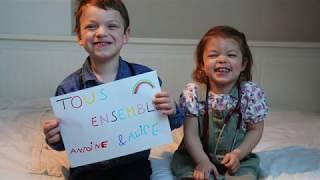 Un petit message des enfants !