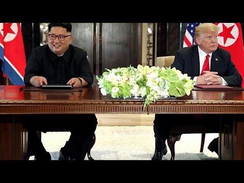 Συμφωνία Τραμπ – Κιμ: Ικανοποίηση με επιφυλάξεις