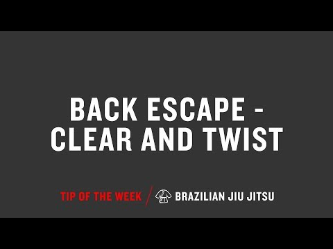 Back Escape Clear And Twist