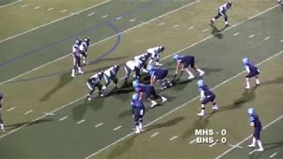 Muskogee vs Bartlesville Football