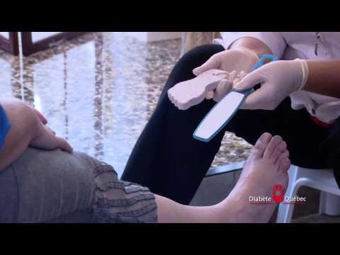 Le soin des pieds