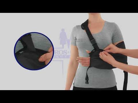 Бандаж для руки поддерживающий с фиксатором (косыночная повязка) Тип 611 Торос Груп