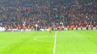 Galatasaray 3-2 Real Madrid   Maç Sonu Futbolcular HD