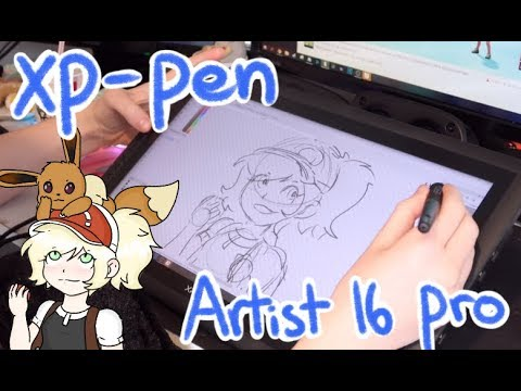XP-Pen Artist 16 Pro Tablet Review/Unboxing