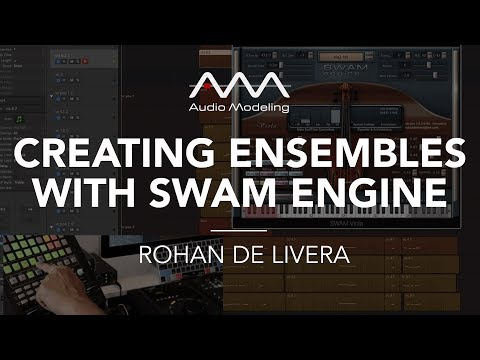 "Creating ensembles with SWAM instruments. ""Making Mercury"", a walkthrough by Rohan De Livera"