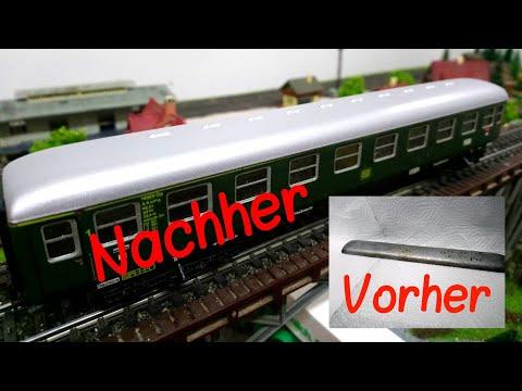 #1Tutorial: Alte Wagen restaurieren!|Let´s Modellbahn