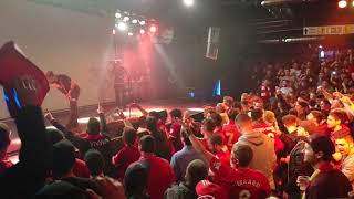 BOSS Night Munich: Jamie Webster   Virgil Van Dijk Song  13.03.19  Redmen Family
